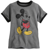 Disney Classic Mickey Mouse Ringer Tee for Boys
