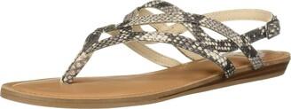 Fergalicious Women's Snazzy Too Flat Sandal NATMULTI 6.5 M US