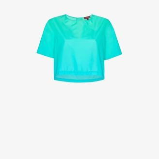 STAUD Teigan cropped T-shirt