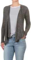 Artisan NY Fly Away Cardigan Sweater - Linen, Open Front (For Women)