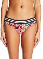 Body Glove Women's Wonderland Lola Low Rise Mid Coverage Bikini Bottom