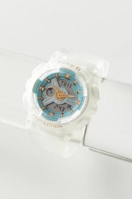 Casio BABY-G White Resin Analog-Digital Watch