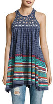 Free People Textured Knit Tunic