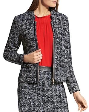 Basler Tweed Zip Blazer