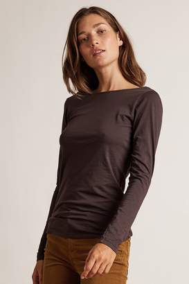 Velvet by Graham & Spencer MANDIE GAUZY WHISPER LOW BACK TEE