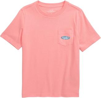 Vineyard Vines Sailfish & Birds Surf Logo Graphic T-Shirt