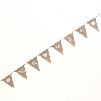 Ginger Ray Mr & Mrs Hessian Bunting