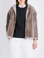 Brunello Cucinelli Reversible shearling jacket