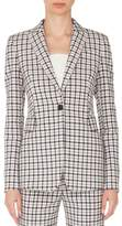 Akris Punto Checked Blazer