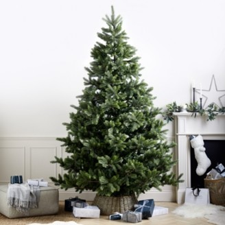 The White Company Symons Nordmann Christmas Tree 9ft, Natural, One Size