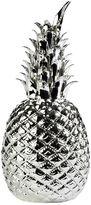 Pols Potten Silver Glazed Porcelain Pineapple