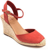 Me Too Bethany Leather Wedge Platform Pumps