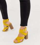 Stacked Heel Sandals ShopStyle Australia