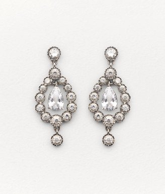 Bottega Veneta EARRINGS IN ZIRCONIA AND STERLING SILVER