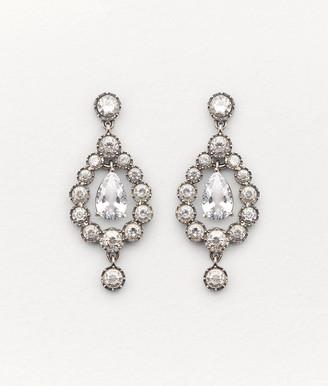 Bottega Veneta Earrings In Zirconia And Sterling Silver