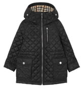 Burberry Trey Quilted Water Resistant Hooded Jacket