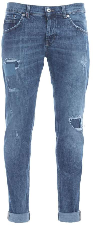 Dondup Ritchie Blue Washed Jeans