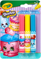 Cupcake Chic Shopkins Pip-Squeak Washable Marker Set