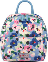 Cath Kidston Large Painted Pansies Smart Zipped Backpack