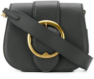 Polo Ralph Lauren bucke-embellished shoulder bag