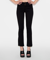 Black Super Stretch Flare Jeggings