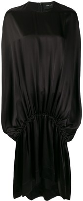 Simone Rocha Dropped-Waist Silk Satin Dress