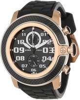 Glam Rock Men's GR33106-DEBZ Sobe-Tech Chronograph Dial Silicone Watch