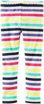 Carter's Rainbow Stripe Leggings - Stripe - 6 Months