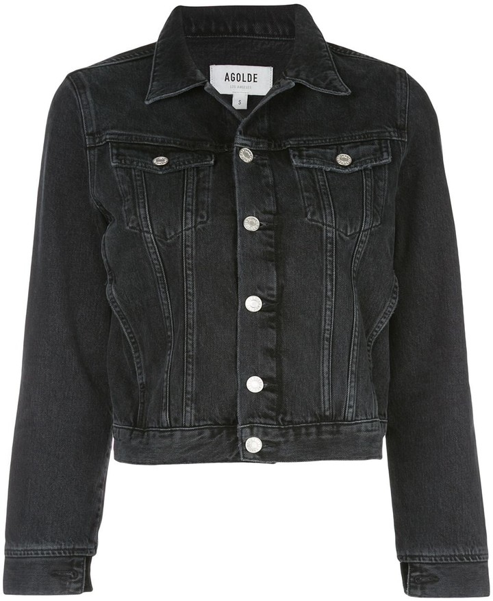 AGOLDE Cropped Denim Jacket