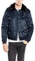 Cheap Monday Men's Freeze bomber Long Sleeve Jacket,Medium