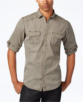 INC International Concepts Men's Raised Plaid Shirt, Only at Macy's