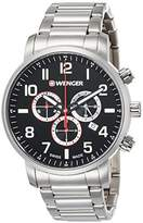 Wenger watch 10 ATM water resistant Military chronograph Attitude Chrono 01.1543.102 Men's [regular imported goods]
