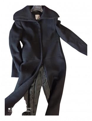 CNC Costume National Black Wool Coats