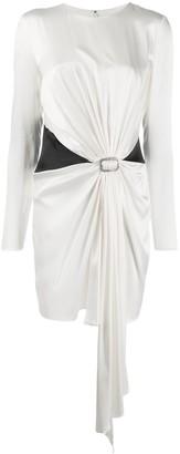 Alexandre Vauthier Draped Dress