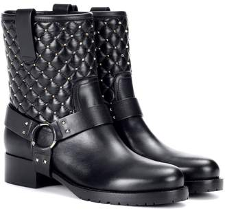 Valentino Garavani Soul Rockstud leather ankle boots