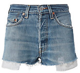 RE/DONE Two-Tone Shorts