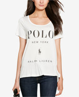 Polo Ralph Lauren Flagship Scoop Neck T-Shirt
