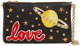 Dolce & Gabbana Love Studded Leather Clutch