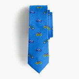 J.Crew Boys' critter silk tie in bicycles