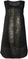 Vivienne Westwood net layered sleeveless dress - women - Cotton/Acrylic/Polyester/other fibers - S