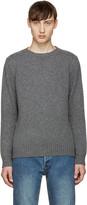 A.P.C. Grey Shortbread Sweater