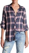 KUT from the Kloth Plaid Long Sleeve Shirt