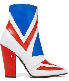 Laurence Dacade Bowie Color-block Leather Ankle Boots