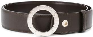 Bvlgari Circular Buckle Belt