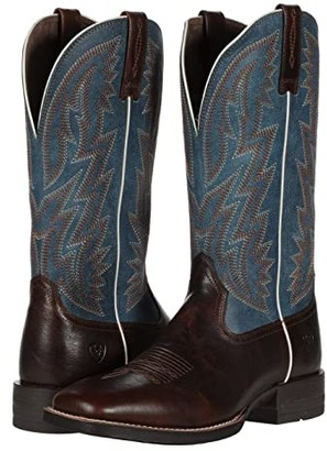 Ariat Dynamic (Brown Patina/Blue Dusk) Cowboy Boots