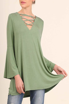 Umgee USA Casual Bell Top