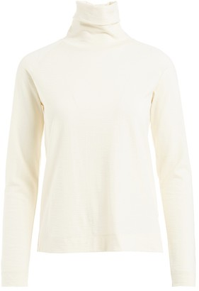 Wolf & Badger Jerome Cream Wool Jersey Top