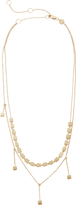 Jennifer Zeuner Jewelry Pre-Layered Short Necklace