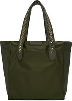 Stella McCartney Green Nylon Chained Tote