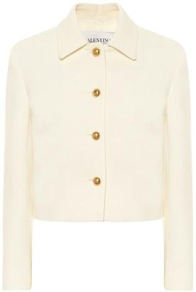 Valentino Stretch-wool jacket